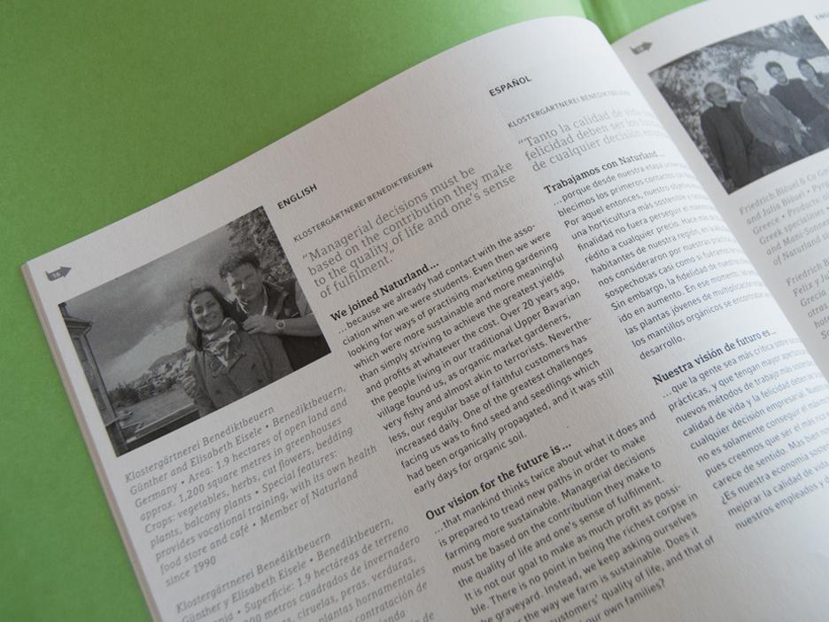 Naturland 30 Jahre Jubiläum, Jubiläums-Bildband mit 30 Naturland Partner Portraits