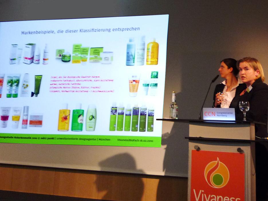 BioFach 2010 Vortrag Martina Merz