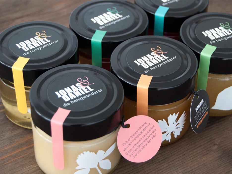 Honig Scholz Bio Honig Verpackungen merz punkt