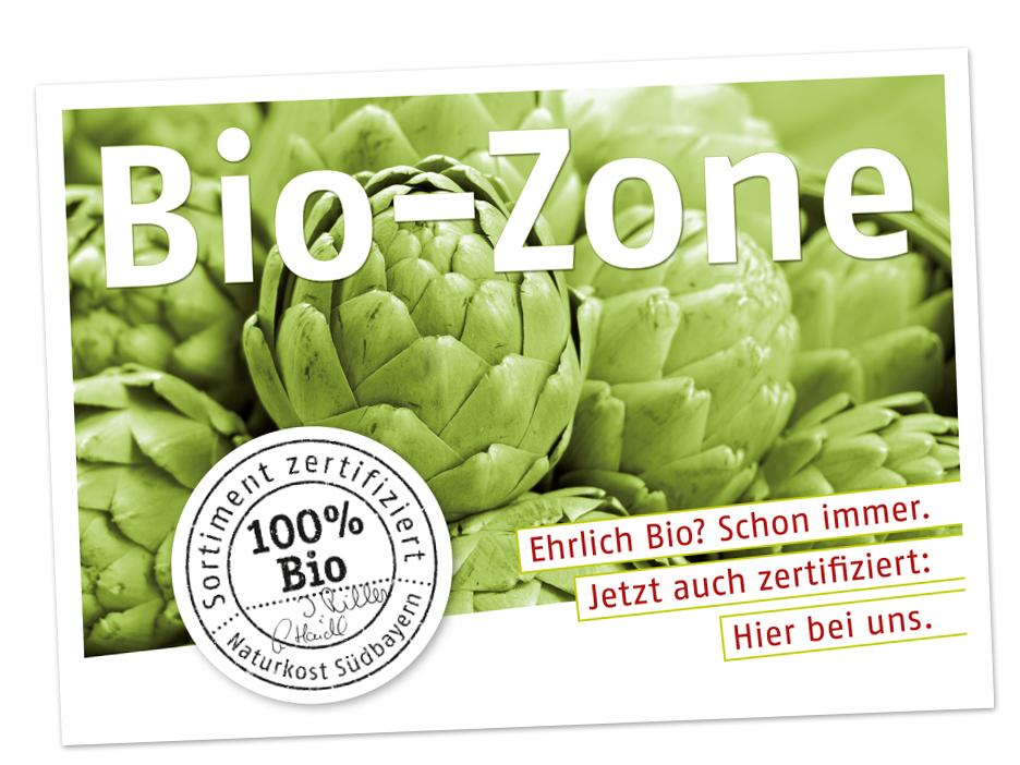 Karte Bio Zone Naturkost Südbayern mërz punkt