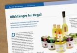Presseartikel mërz punkt Bioland Magazin und BIOwelt