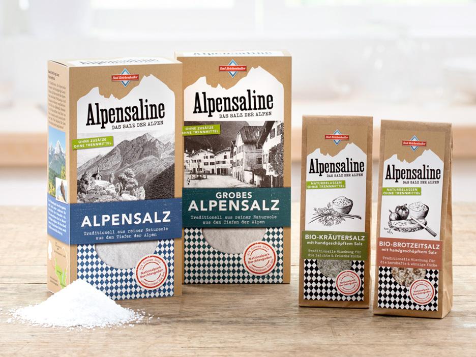 Alpensaline Packaging merz punkt