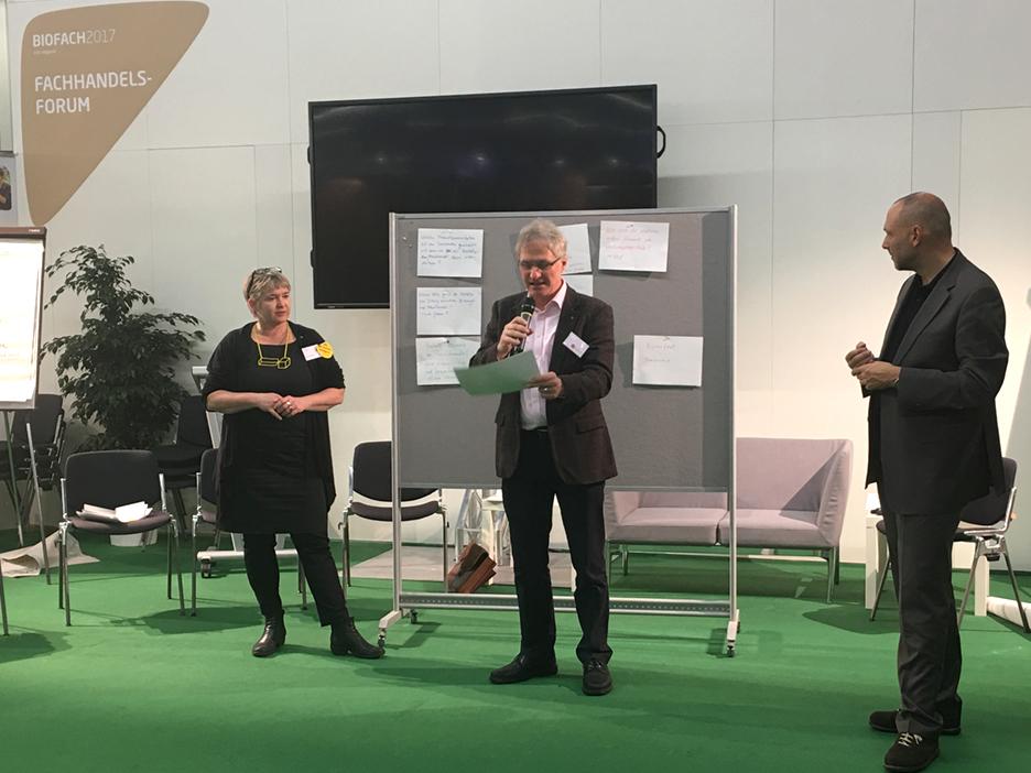BarCamp Fachhandels Forum mit Martina Merz und Christoph Spahn