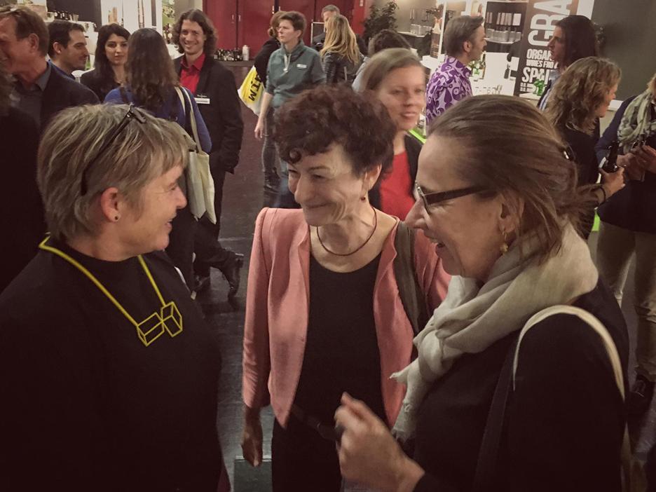 Martina Merz Ursula Hudson Slowfood merzpunkt Biofach 2017