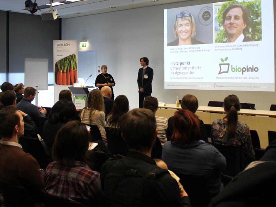Arbeit mit Personas Vortrag Biofach 2017 Martina Merz Nikolas Scharioth