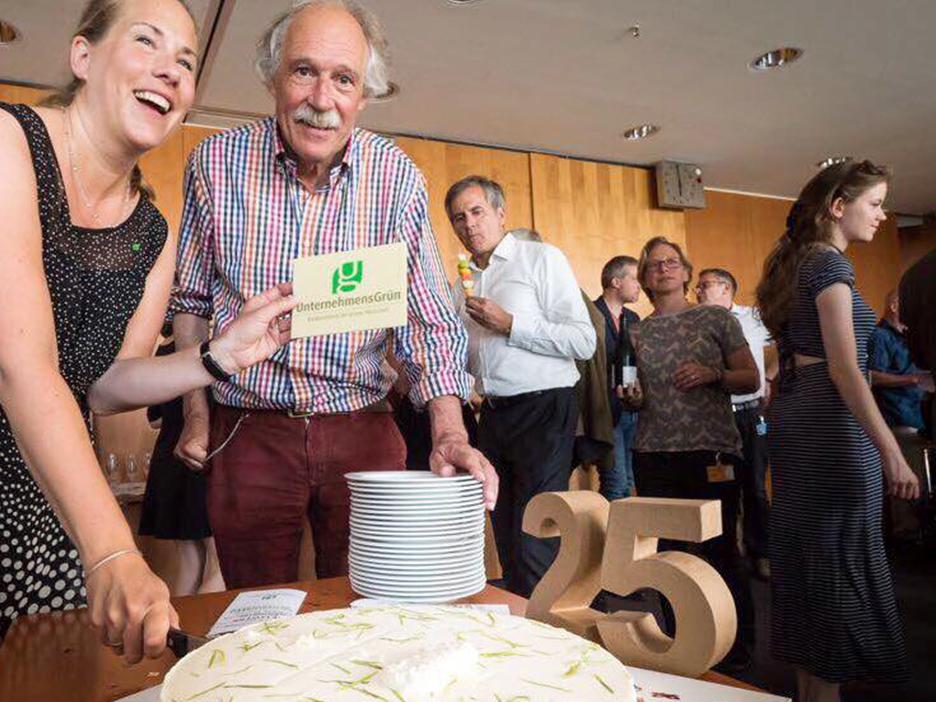 25 Jahre UnternehmensGruen Katharina Reuter Gottfried Härrle