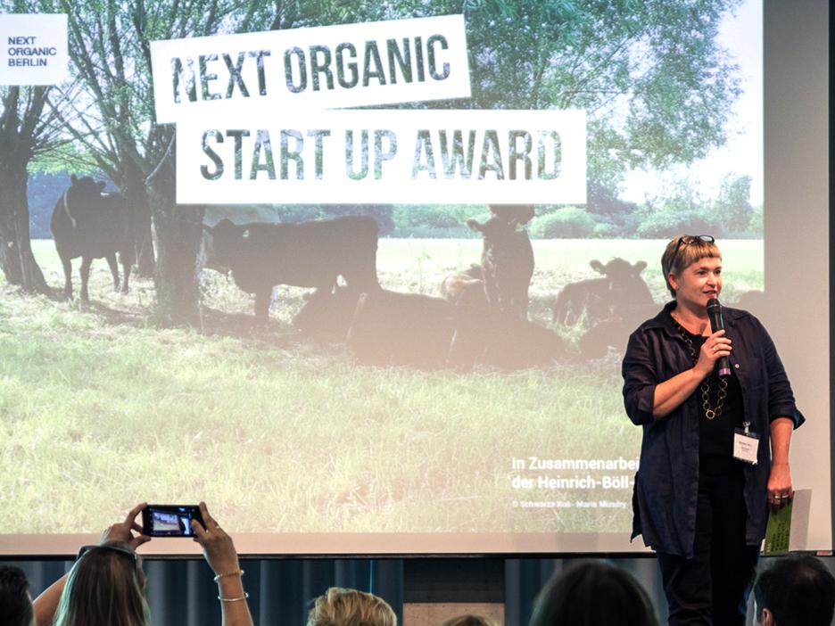 Martina Merz Juryvorsitz, Keynote, Next Organic 2017