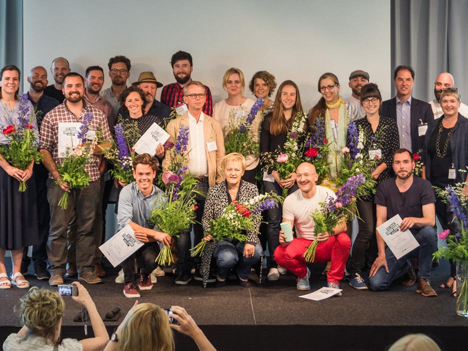Next Organic, Preisträger, Gruppenbild, merz punkt 2017