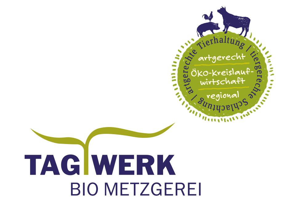 TAGWERK Bio Metzgerei Corporate Design und Gesamtauftritt merz punkt