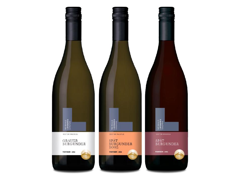 Weinhaus Landmann Wein-Etiketten